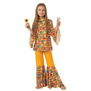 Hippie kids Halloween costume